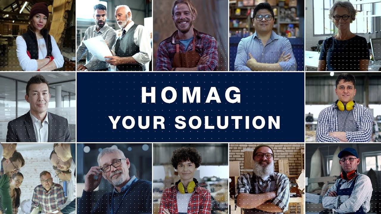[Translate to Polish:] We are HOMAG. YOUR SOLUTION | Machines and plants for the woodworking industry