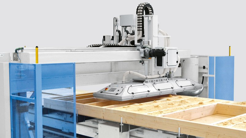 WEINMANN Multifunction bridge WALLTEQ M-380 insuFill for automated insulation