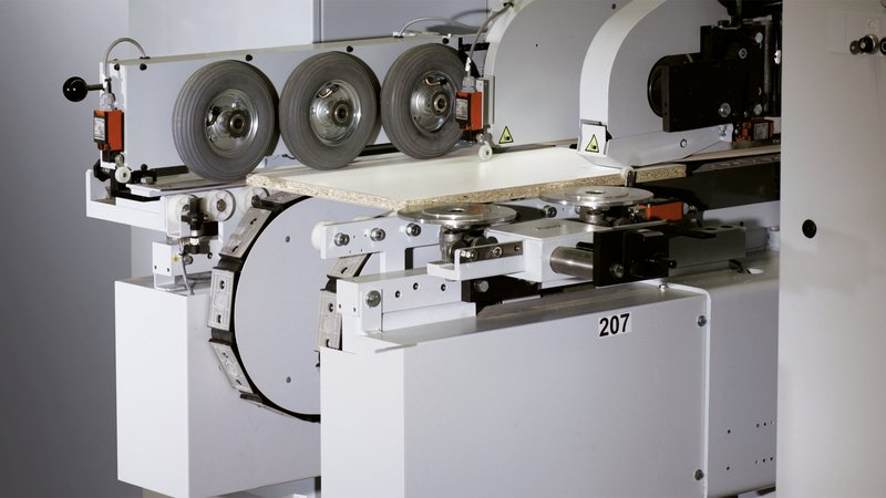 Lengthwise processing with EDGETEQ D-600