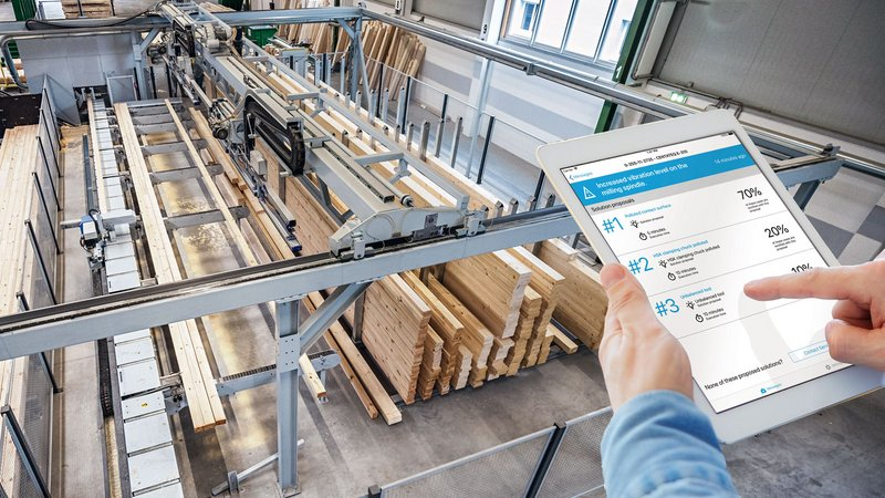 Digital solution for timber construction