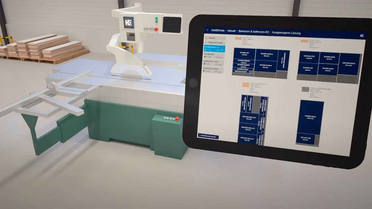 Digitalization for carpenters and woodworking shops: Apps and assistants from HOMAG