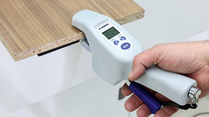 Wireless thickness caliper ME 5000