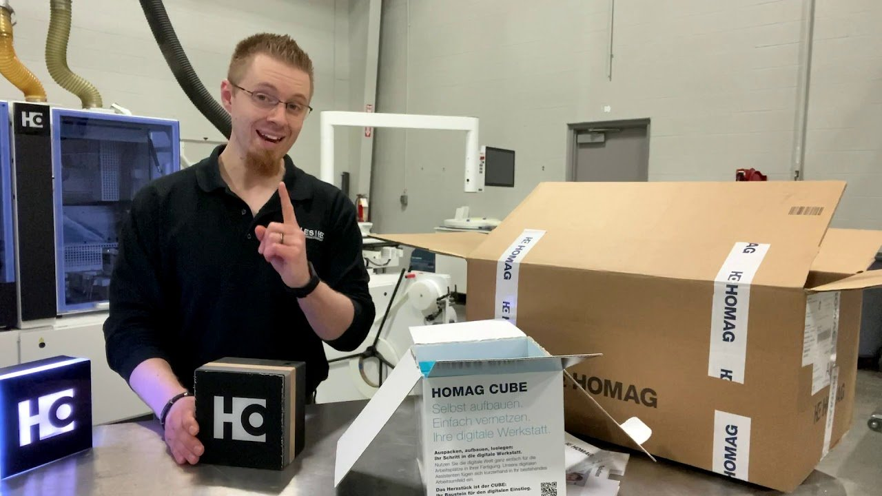 Unboxing the HOMAG Cutting Production Set