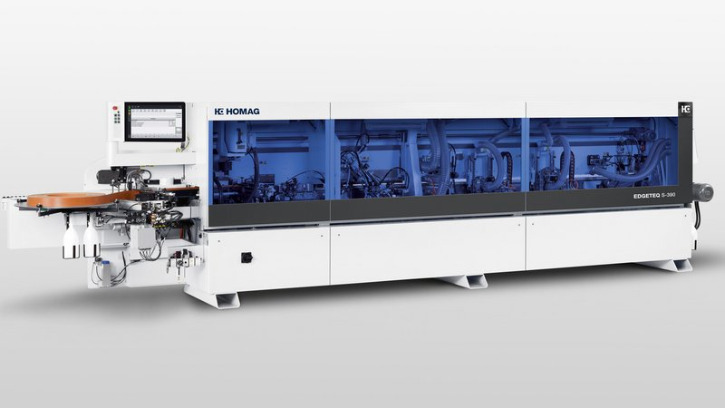 Edge-banding-machine EDGETEQ S-390 from BRANDT