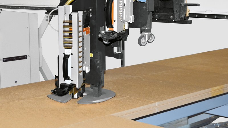 Sliding shoe for fastening devices at WEINMANN multifunction bridge WALLTEQ