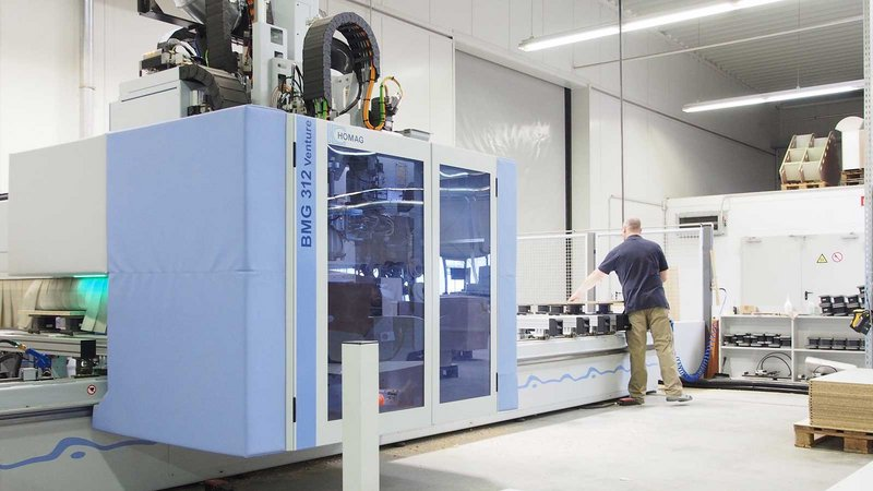 For CNC processing, Schönefeldt is using a five-axis BAZ BMG 312 in combination …