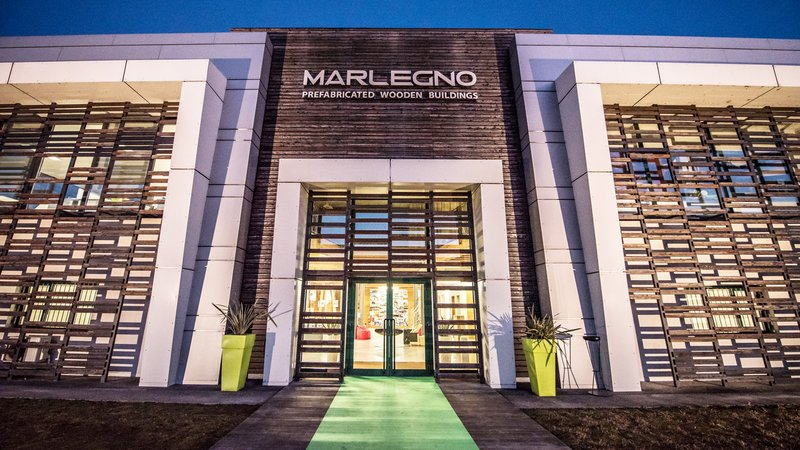 Marlegno Srl is one of Italy's leading timber framing companies and specializes in the construction of houses, buildings and custommade wooden structures.