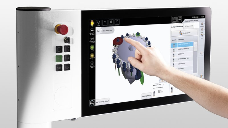 powerTouch control system from HOMAG