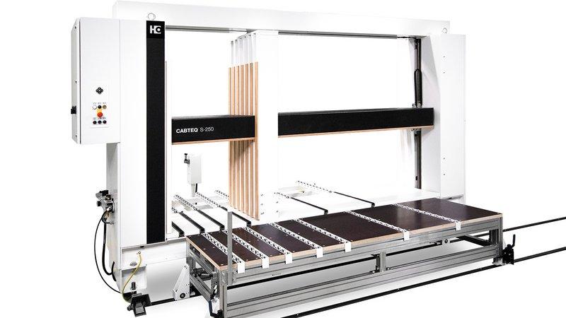 Пресс для сборки корпусной мебели CABTEQ S-250 — идеальное оборудование для аккуратной сборки