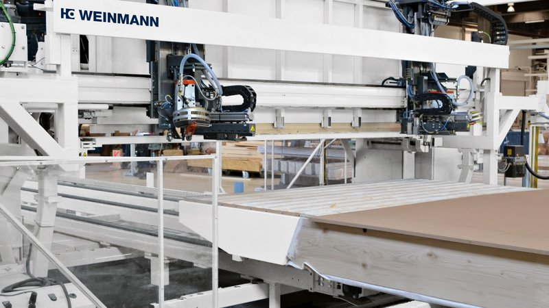Applicatore assicelle per ponte multifunzione WEINMANN WALLTEQ