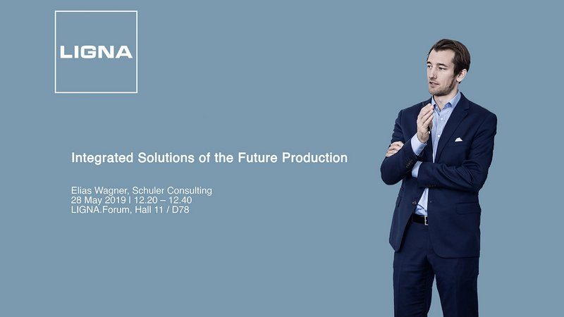 Ligna Forum with Elias Wagner of Schuler Consulting