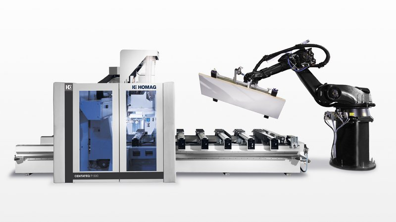 Upgrade your CNC processing centres into complete production cells