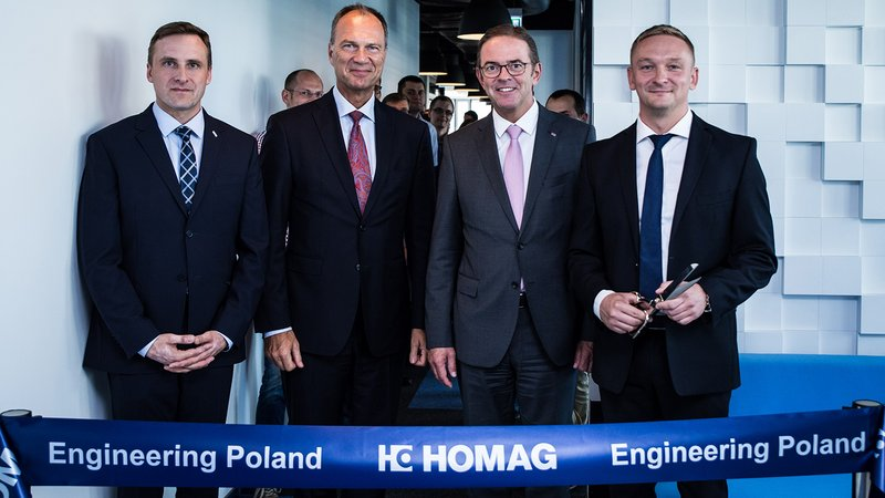 HOMAG Group opens engineering center in Poznan