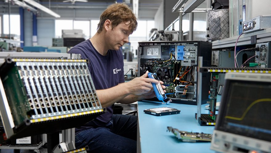 Inspection and repair of electronic components