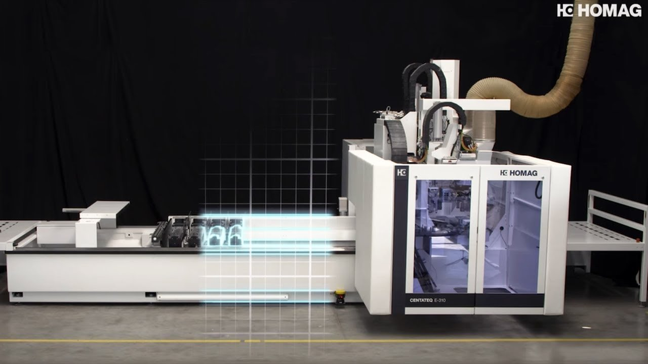 CNC Processing Center CENTATEQ E-310: Working on a CNC machine has never been so easy and convenient.