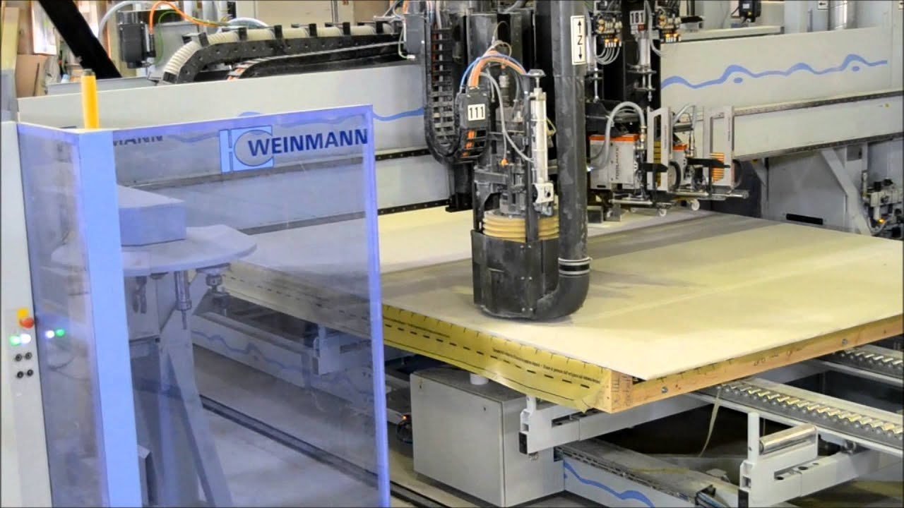 WEINMANN compactPLUS element production system from the frame work to the finished element