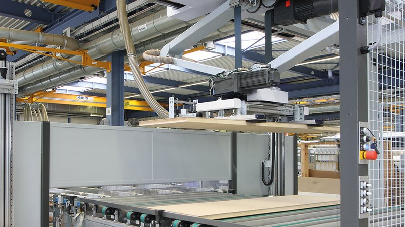 Feed and stacking system FEEDTEQ G-200 | STACKTEQ G-200 | HOMAG