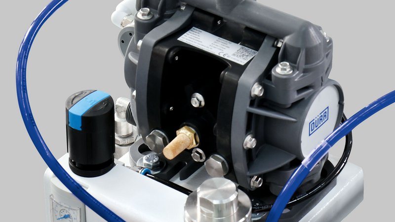 Low-pressure glue pump