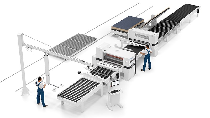 Laminating Plant LAMTEQ F-200 with Handling Concept