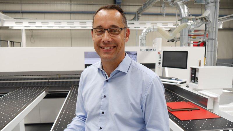 """Arne Mömesheim: """"intelliOptimizer Stacking macht Robotersägen fürs Handwerk noch besser und wirtschaftlicher."""""""