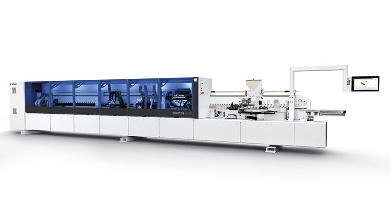 All HOMAG edge banding machines will be displayed in Hall 10.0 with a new, modern machine design and a new name: EDGETEQ.