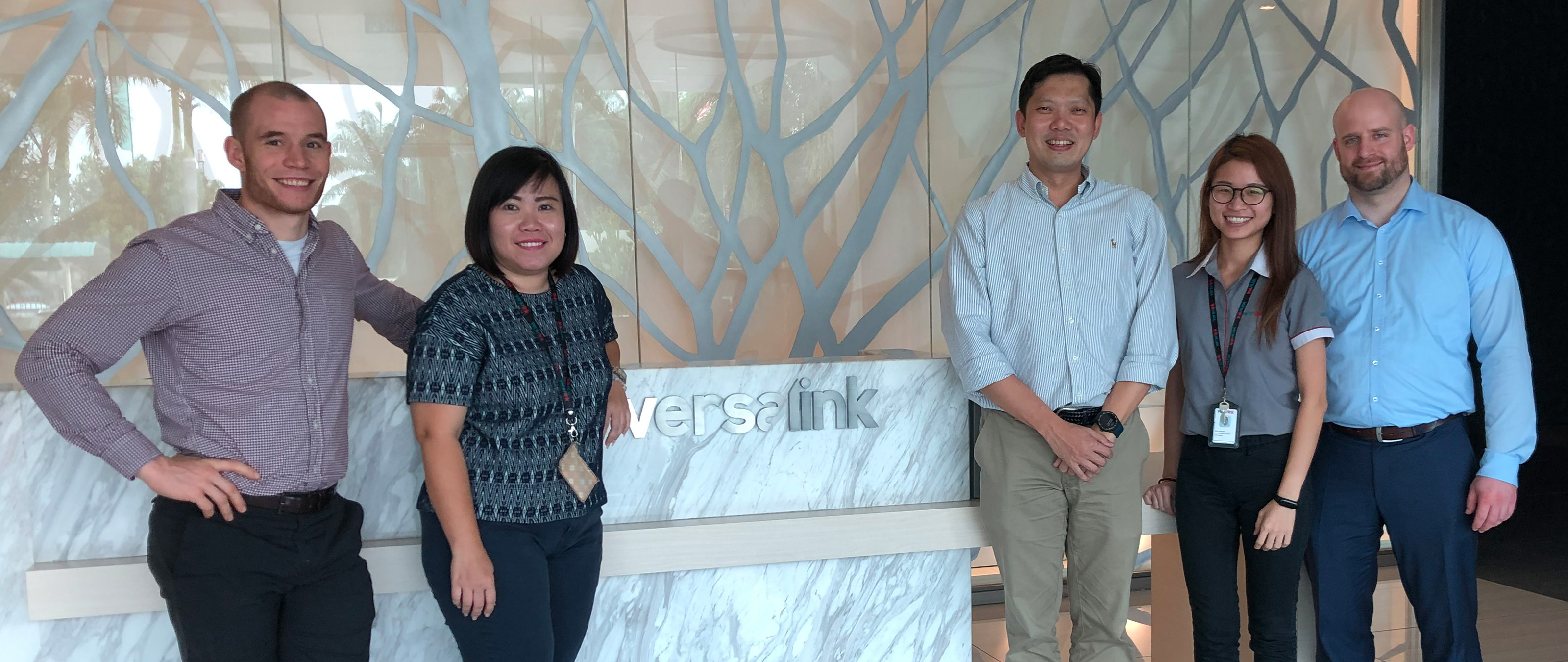 Responsible persons from Versalink in Controlling and Sales