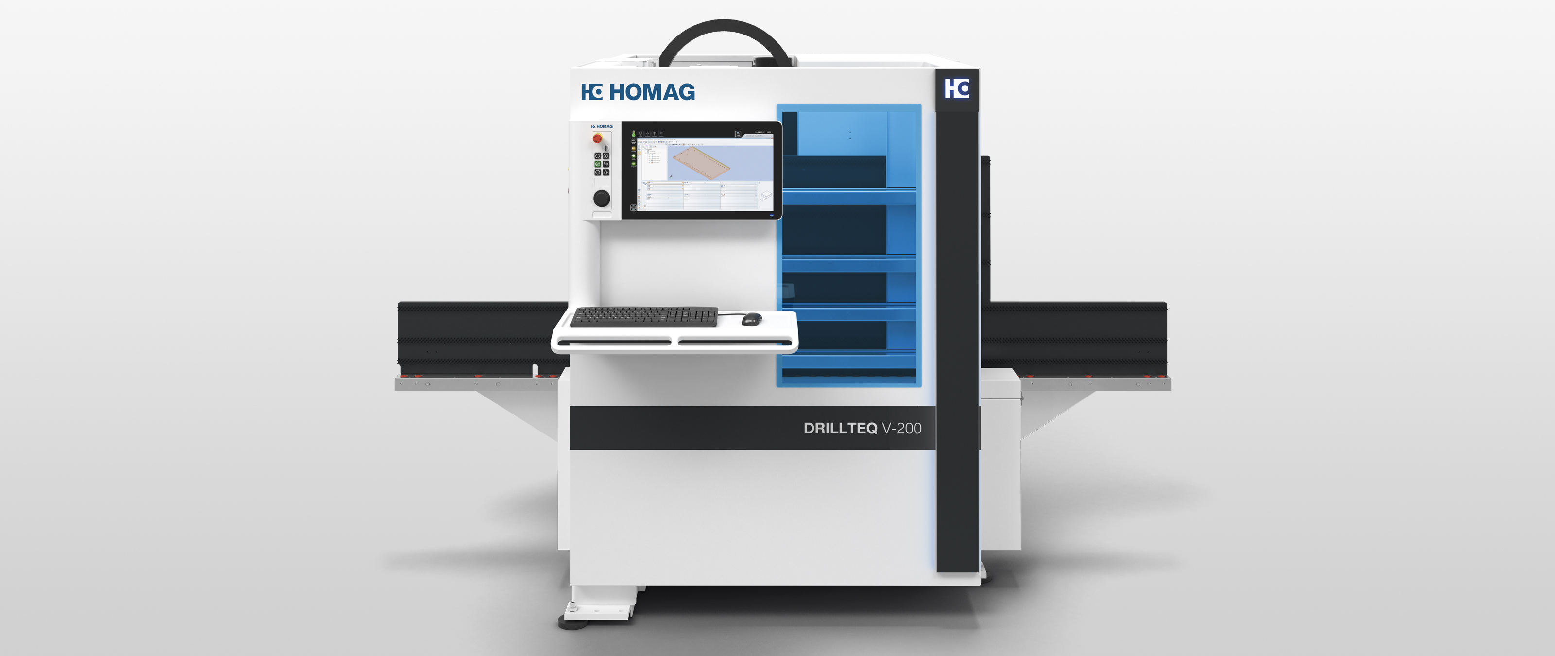 Vertical CNC Processing Center DRILLTEQ V-200