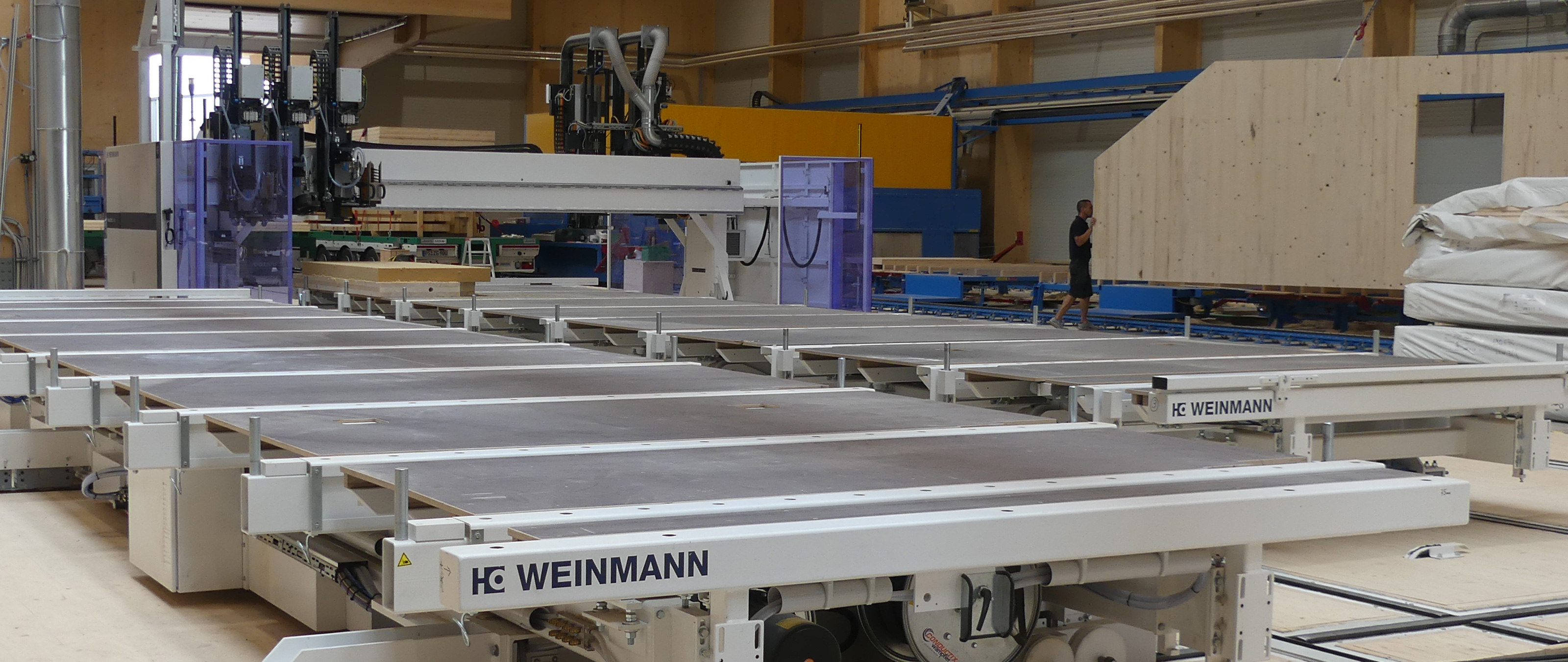 Compact line timber framing WEINMANN