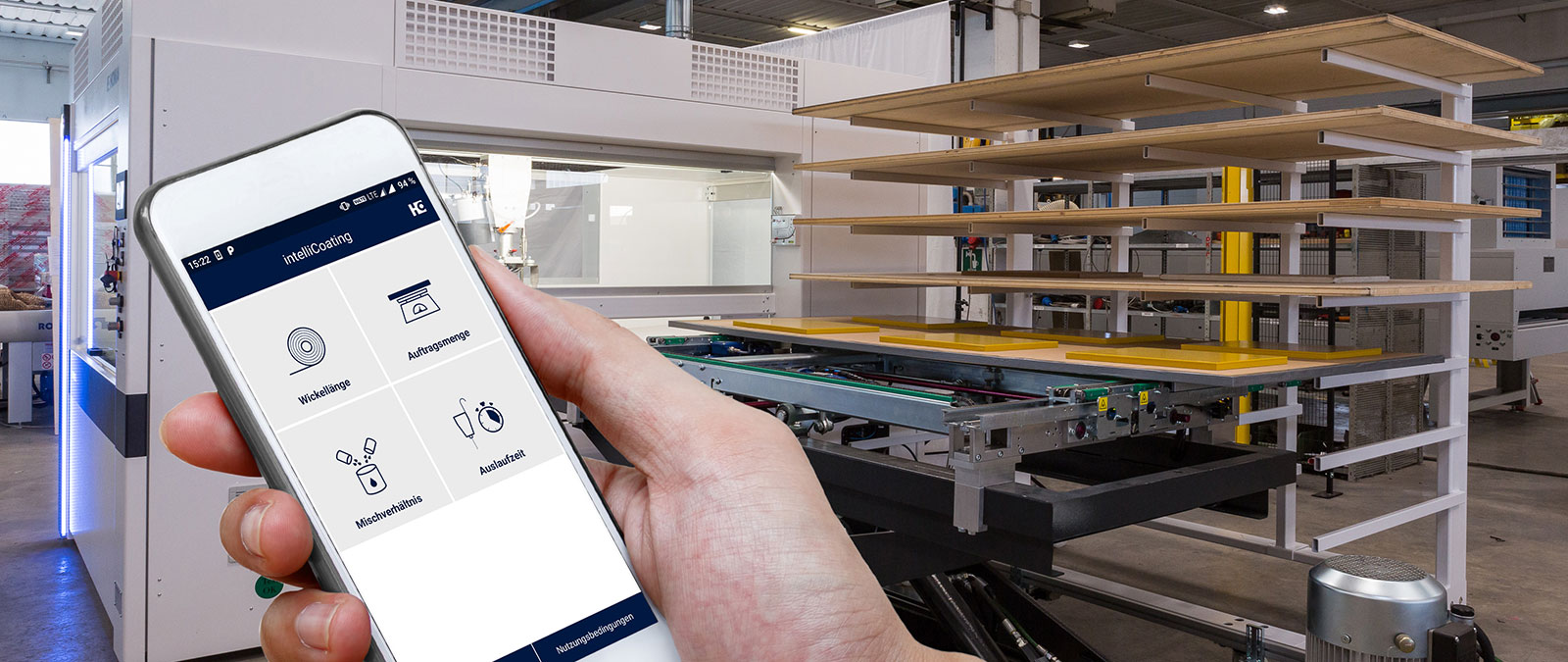 IntelliCoating App - The digital multifunction tool for all coating system operators