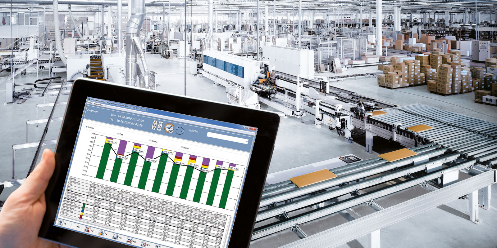 Software HOMAG Machine Monitoring & Reporting